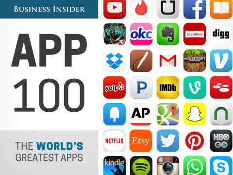 Business Insider App 100